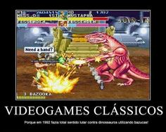 Vídeo Games Clássicos, até hoje buscamos um sentido.  http://acessogames.com.br/