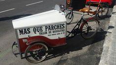 De visita a Mas que Parches, Madrid.