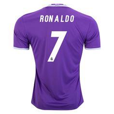 e24dc61f5e08e 16 17 Cristiano Ronaldo Jersey Number 7 Away Authentic Men s Real Madrid  Soccer Verdadera Del