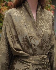 "S T U D I O B A Z A R 🌿 on Instagram: ""Jacquard Wrap Kimono 🍃 See more about this piece via link in bio✨ #studiobazar"" Sustainable Clothing, Kimono, Link, Instagram, Women, Women's, Sustainable Clothes, Kimonos"