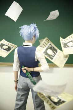 20 Assassination Classroom Cosplays That Will Make You Slither With Glee