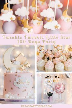 1st Birthday Girl Decorations, Girl Birthday Themes, Baby Girl First Birthday, Girl Baby Shower Decorations, Baby Shower Themes, Shower Ideas, Birthday Ideas, Gateau Baby Shower, Deco Baby Shower