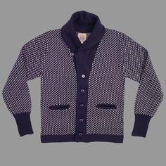 North Sea Clothing -  THE INTREPID CARDIGAN