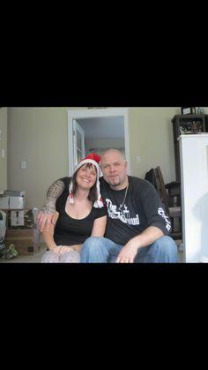 My dad and Aunty Rhonda