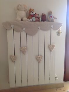 """Lovely little things: """"Battery Case"""" - dekoration Baby Bedroom, Girls Bedroom, Diy Projects To Try, Sewing Projects, Baby Decor, Diy Home Decor, Diy And Crafts, Kids Room, Handmade Gifts"""