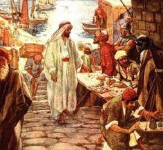 IO e un po' di briciole di Vangelo: (Mc 2,13-17) Non sono venuto a chiamare i giusti, ...