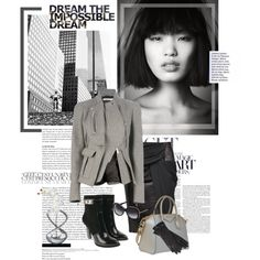 Black and Gray by roxy75 on Polyvore featuring мода, Givenchy, Alexander Wang, Nambé and MICHAEL Michael Kors