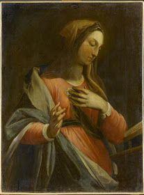 Virgem da Anunciação Frederico Zuccari século XVI Ancone