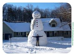 I know realistically it is hard to make a good snowman but a bit of creativity can make a big difference to make your snowman a unique and funny one. By the way, do you still have snow around where...