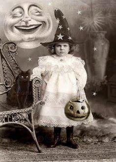 Vintage Halloween. ☀