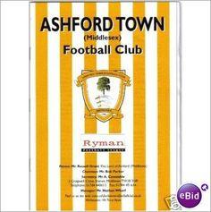 Ashford Town Middlesex v Egham Town 24/9/2002 Non League Football Programme Sale