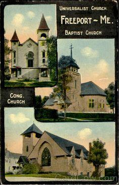 Bapist Church Freeport Maine