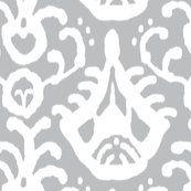 dining room wallpaper  Gray_cream_ikat_shop_thumb