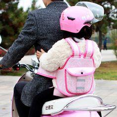 Electric Riding Vehicle Safe Adjustable Strap Carrier Harness Baby Toddler Harness Reflective Kids ' Motorcycle Back hold Vest