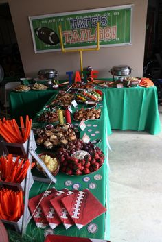 Football Tailgate Birthday Party Ideas | Photo 3 of 52 | Catch My Party