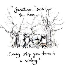 Happy Quotes, Positive Quotes, Belief Quotes, Charlie Mackesy, The Mole, My Children Quotes, Little Things Quotes, Horse Quotes, Pooh Bear
