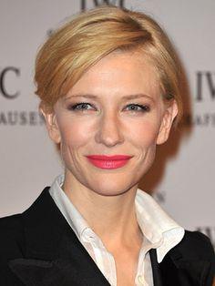 Cate Blanchett Hairstyles - January 18, 2011 - DailyMakeover.com