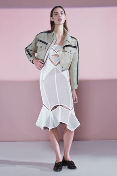 See the complete Hervé Léger by Max Azria Pre-Fall 2016 collection.