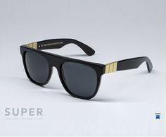 super-sunglasses-eyewear-iceblink: Super by Retrosuperfuture sunglasses flat top gian...
