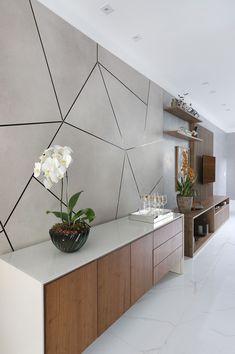 Wall Decor Design, Foyer Design, Home Room Design, Home Interior Design, House Design, Interior Walls, Ceiling Design, Living Room Decor Cozy, Home Living Room