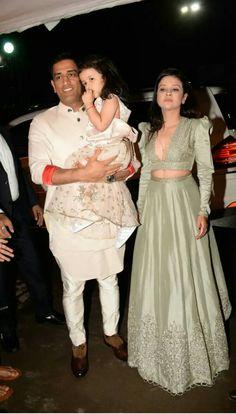 s Dhoni with family at Poorna patel wedding Choli Dress, Lehenga Skirt, Blouse Patterns, Saree Blouse Designs, Sewing Patterns, Cricket Dress, Deepika Padukone Style, Pakistani Wedding Outfits, Bridal Lehenga