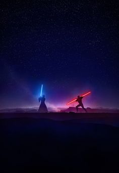 Obi-Wan Kenobi & Darth Maul Star Wars