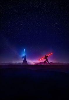 Obi-Wan Kenobi & Darth Maul Star Wars