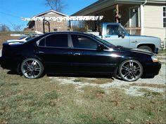 Custom Acura with Wheels tl-s 2002 | FS: 2003 SSM Acura TL-S ...