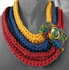 Here are some great crochet cowl and scarf projects and the best thing is they are all FREE crochet patterns! Come check them out! Crochet Scarves, Crochet Shawl, Crochet Stitches, Knit Crochet, Crochet Patterns, All Free Crochet, Love Crochet, Fabric Jewelry, Crochet Accessories