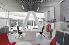 Skim Milk: Adidas Office Interior