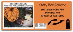 """Story Box for """"The Little Old Lady Who Was Not Afraid of Anything"""" Trade Books, New Readers, Work Activities, Old Women, Holiday Ideas, School Stuff, School Ideas, Preschool, October"""