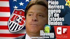 Piojo Herrera nuevo DT de Estados Unidos
