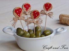 Idee per san Valentino - Riciclo Tappi di Sughero