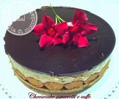 la casetta di cioccolato: Cheesecake amaretti e caffè