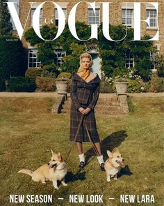Top model Lara Stone channels noble origins retro styles from Dior, Nina Ricci, Alberta Ferretti, Michael Kors and more styled by Julie Pelipas . Lara is lensed in 'Queen Lara' by Quentin de Briey for Vogue Ukraine September