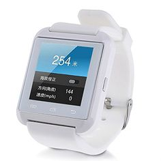 Yimeixuan U8 UWatch Bluetooth Smart Watch WristWatch for Smartphones White. Ring reminder when your Android 2.3 or above smart phone receive a message (including Wechat, Facebook, Twitter,WhatsApp, Skype,and so on). Support hands-free calls, Answer or Dial calls from your wrist. Play the music in your phone (after Bluetooth paring). Sync phone book/SMS/call history(only for android phone). Remote taking photo function:You can control your cellphone to take photo from your wrist. Need…