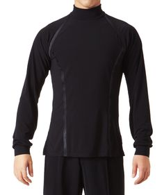 Taka Highnecked Latin Shirts MS243 | Dancesport Fashion @ DanceShopper.com