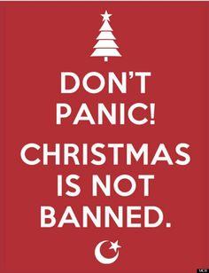 UK Muslims insist: 'we don't want to ban Christmas'