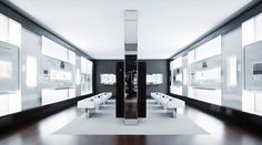In 2007, IWC trumped its past achievements with a totally newly designed watch museum on the converted ground floor of the main building