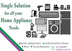 Home Appliances: Dealer, Repair, Service, Buy, Sell, Rent In Delhi/NCR