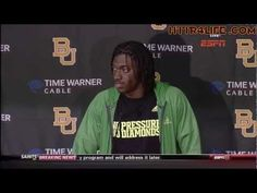 Robert Griffin III's Pro Day - Full Workout and Interview (3-21-2012)