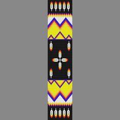 free beadwork patterns native american | This Native American Pattern Looks fanatstic On Regalia. Mountain Man ...