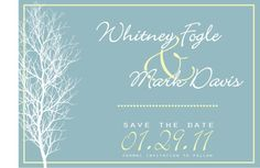 More formal winter save the date