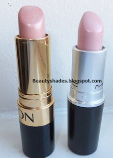 Revlon sky line pink is a perfect match for Mac Pretty Please