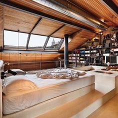 Loft Goals?!?  - Architecture and Home Decor - Bedroom - Bathroom - Kitchen And Living Room Interior Design Decorating Ideas - #architecture #design #interiordesign #homedesign #architect #architectural #homedecor #realestate #contemporaryart #inspiration #creative #decor #decoration