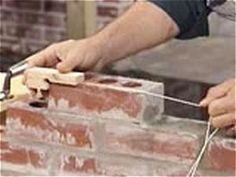 Masonry isn't a simple task, but the right tools can make it easier. Use these step-by-step instructions on DIYNetwork.com and see which tools can help make the job easier.
