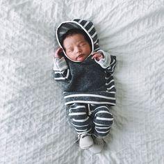 Newborn hoodie + skinny sweats set | CHC