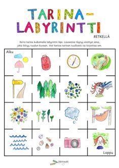 Suulliset tehtävät - Värinautit Kindergarten, Writing, Comics, School, Kindergartens, Cartoons, Being A Writer, Preschool, Comic