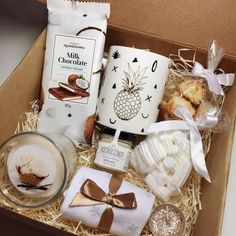 Diy Best Friend Gifts, Diy Christmas Gifts For Friends, Christmas Gift Baskets, Christmas Gift Box, Homemade Christmas Gifts, Xmas Gifts, Homemade Gifts, Cute Gifts, Handmade Christmas