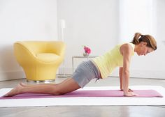 pregancy streaches How to stay strong and limber -- without a trainer or equipment